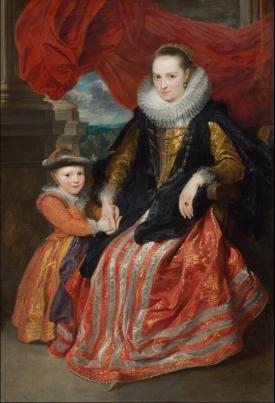 Van Dyck, Susanna Fourment and Her Daughter (Washington, NGA)